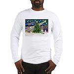 Xmas Magic / Brittany Spaniel Long Sleeve T-Shirt