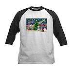 XmasMagic/2 Bullies Kids Baseball Jersey