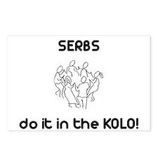 Serbs do it in a Kolo Postcards (Package of 8)