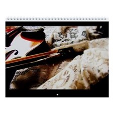 Violin Wall Calendar