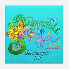 Mermaids & Magic Tile Coaster