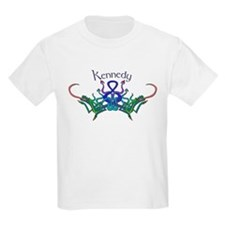 Kennedy's Celtic Dragons Name Kids T-Shirt