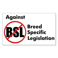 Anti-BSL Rectangle Decal