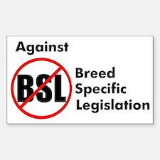 Anti-BSL Rectangle Decal