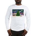 Xmas Magic & Cairn Terrier Long Sleeve T-Shirt