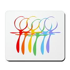 Rainbow Unity Mousepad