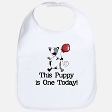 This Puppy is One Bib