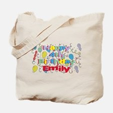 Emily's is four years old an Tote Bag