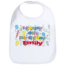 Emily's is four years old an Bib