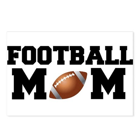 Football Mom Postcards (Package of 8)