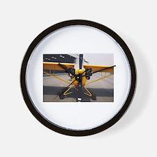 J-3 Cub Front Wall Clock