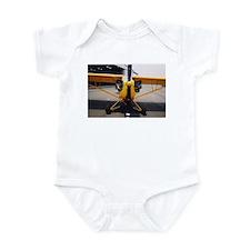 J-3 Cub Front Infant Creeper