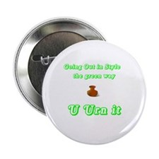 """the green way 2.25"""" Button"""