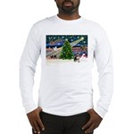Xmas Magic & Chihuahua Long Sleeve T-Shirt