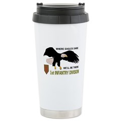 1st INFANTRY Travel Mug