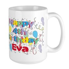 Eva's is four years old and Mug