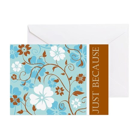 Just Because Greeting Cards (Pk of 20)