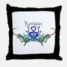 Keegan's Celtic Dragons Name Throw Pillow