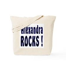 Alexandra Rocks ! Tote Bag