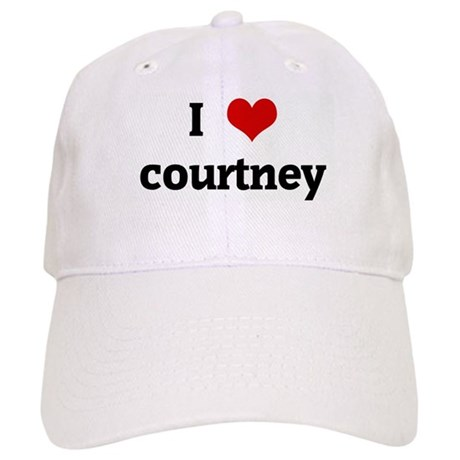 I Love courtney Cap