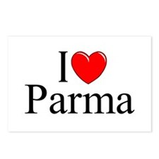 """I Love (Heart) Parma"" Postcards (Package of 8)"
