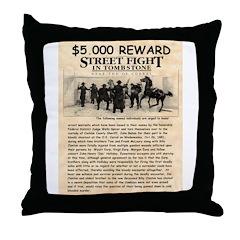 OK Corral Reward Throw Pillow