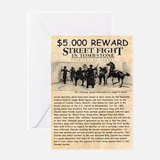 OK Corral Reward Greeting Card