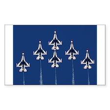 USAF Thunberbirds Rectangle Decal