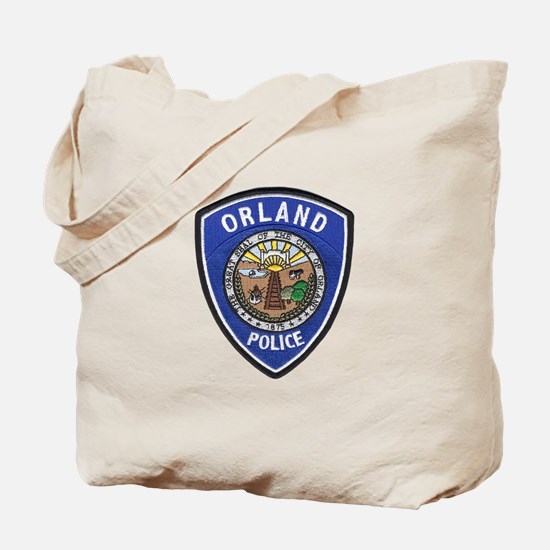 Orland Police Tote Bag