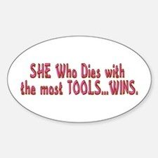 Most Tools Oval Decal