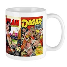 VIntage Comics: Wrap-Around Jungle Women Coffee Mug