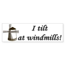 Windmills Bumper Bumper Sticker