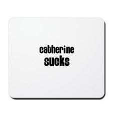 Catherine Sucks Mousepad