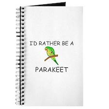 I'd Rather Be A Parakeet Journal