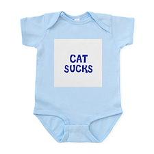 Cat Sucks Infant Creeper