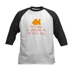 Know, love goldfish. Kids Baseball Jersey