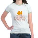 Know, love goldfish. Jr. Ringer T-Shirt
