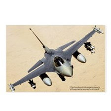 F-16 Fighting Falcon Postcards (Package of 8)