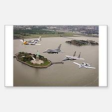 Historic Aircraft Rectangle Decal