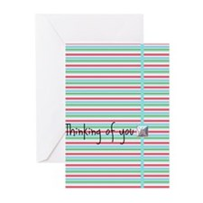 Stripes Greeting Cards (Pk of 20)