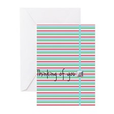 Stripes Greeting Cards (Pk of 10)