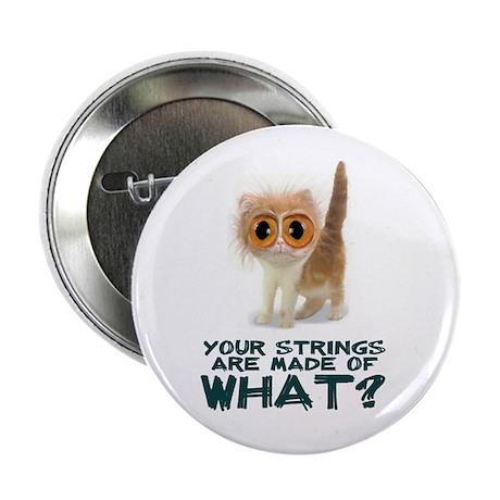 "Catgut Strings Shocker 2.25"" Button"