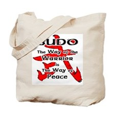 Budo - The Way of the Warrior Tote Bag