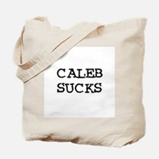Caleb Sucks Tote Bag