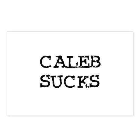 Caleb Sucks Postcards (Package of 8)