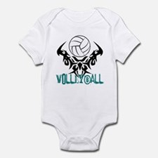 Volleyball Tribal Infant Bodysuit