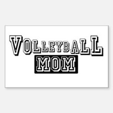 Volleyball Mom Rectangle Decal