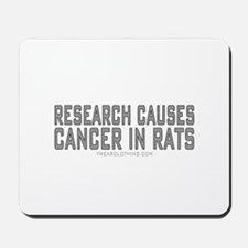 Research Cancer Mousepad