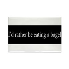 bagel Rectangle Magnet