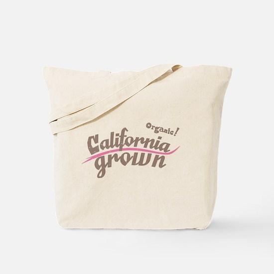 Organic! California Grown Tote Bag